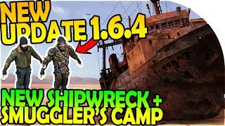 Download NEW UPDATE 1.6.4 - NEW WRECKED SHIP EVENT + SMUGGLER CAMP - Last Day On Earth Survival 1.6.4 Update Video