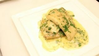 Download Sauteed Sole Fish With Lemon Butter Sauce : NYC Cuisine Video