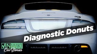Download Diagnostic Donuts in an Aston Martin DBS Video
