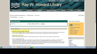 Download Library Website Tour 2014 Video