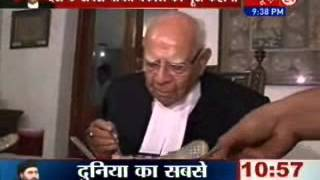 Download Exclusive interview with 'Angry Youngman' Ram Jethmalani Video