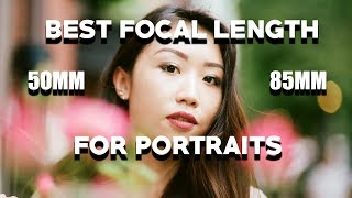 Download Best Focal Length for Portraits - 50MM vs 85MM Comparison (Full Frame) Video