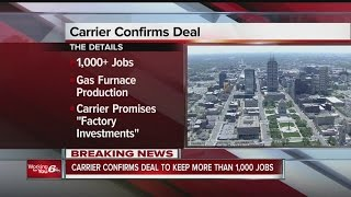 Download Carrier releases details about deal with Trump administration Video