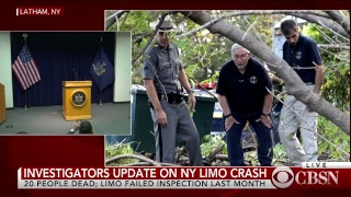 Download Limo crash latest news: NTSB gives update on deadly crash in upstate New York Video