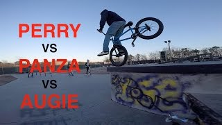 Download Game of BIKE: BILLY PERRY VS AUSTIN AUGIE VS ANTHONY PANZA (BMX) Video