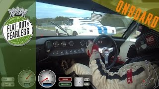 Download Brutal V8 roar: On board a GT40 at Spa Video