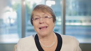 Download Michelle Bachelet, Chile, reading article 7 of the UDHR in English Video