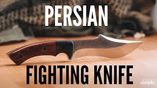 Download Knife Making - How to Make A Persian Fighter (Curved Blade) Video