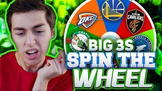 Download SPIN THE WHEEL OF NBA BIG THREES! NBA 2K18 SQUAD BUILDER Video