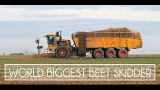 Download WORLD BIGGEST BEET SKIDDER - Harvester 24 Rows - JPS Soyez Video