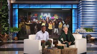 Download Ellen Surprises Incredible Teacher Mr. Bonner Video