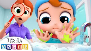 Download Wash, wash, wash your Hands | Healthy Habits Song | Kids Songs and Nursery Rhymes Little Angel Video