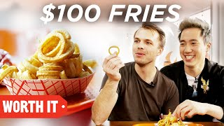 Download $3 Fries Vs. $100 Fries Video