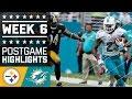 Download Steelers vs. Dolphins (Week 6) | Game Highlights | NFL Video