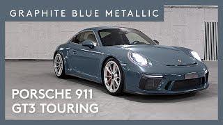 Download 2018 Porsche 911 GT3 Touring Graphit Blau Metallic Video