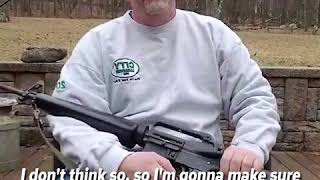 Download Man destroys the AR-15 rifle he's owned for over 30 years after Florida school shooting | ABC News Video
