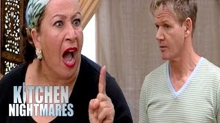 Download Explosive Family Argument at Disappointing Restaurant | Kitchen Nightmares Video