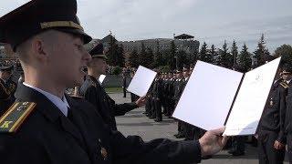 Download Курсанты первого курса академии МВД принесли присягу на верность Республики Беларусь. Video