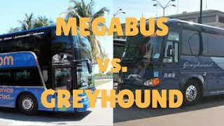 Download Megabus vs Greyhound   Which Bus Is Better? Video