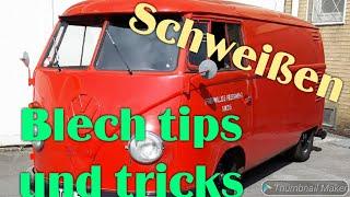 Download Blech tips und tricks . Auf stoß einschweißen. VW T1 Bus Van. Video