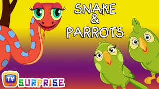 Download Bedtime Stories for Kids in English - Snake & Parrots - Surprise Eggs Toys ChuChu TV Story Time Video