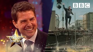 Download Footage of how Tom Cruise broke his ankle while filming his latest movie - The Graham Norton Show Video