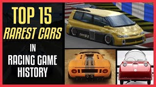 Download TOP 15 RAREST CARS In Racing Game History (Exclusive To ONE GAME ONLY) Video