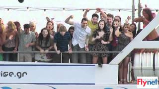 Download Exclusive - Inbetweeners filming in Magaluf Spain Video