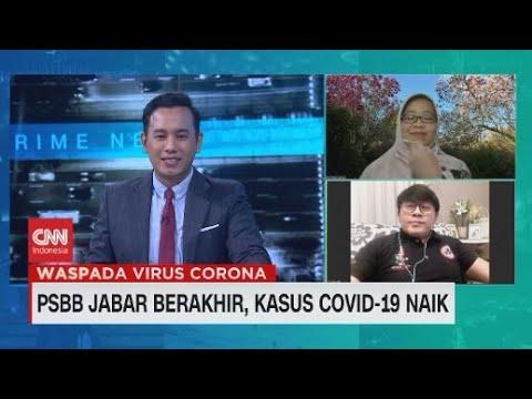 PSBB Jabar Berakhir, Kasus Covid-19 Naik