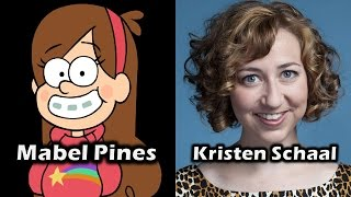 Download Characters and Voice Actors - Gravity Falls (Complete Edition) Video