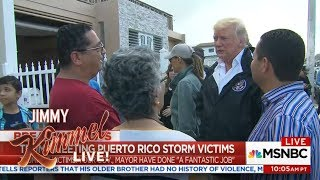 Download Donald Trump Throws Paper Towels in Puerto Rico Video