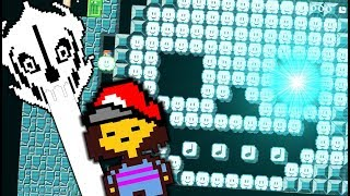 Download LET THE BATTLE AGAINST SANS BEGIN!! | Undertale Levels | Super Mario Maker Video