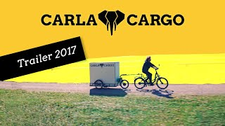 Download Carla Cargo Power Trailer 2017 - transform your bike into a cargo bike solution Video