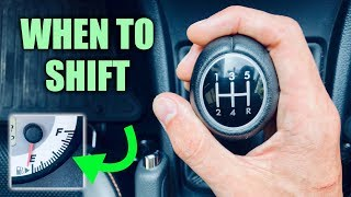 Download When To Shift Gears For The Best Fuel Economy Video
