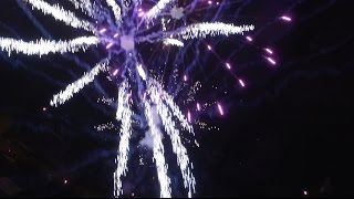 Download Epic drone fireworks in Tallinn, Estonia Video