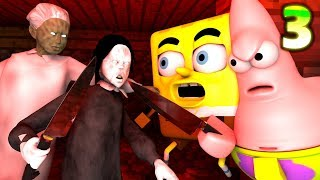 Download GRANNY vs. SPONGEBOB CHALLENGE 3! Minecraft Earth HIDE! Minecraft Horror Game Animation Video