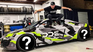Download SURPRISING MY FRIEND WITH CUSTOM AUDI R8 SUPERCAR! *NEW WHEELS & WRAP* Video