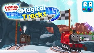 Download Thomas and Friends: Magical Tracks - Kids Train Set - Play with James Video