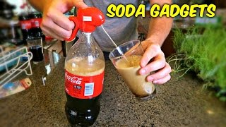 Download 6 Soda Gadgets Put to the Test Video