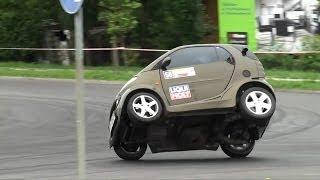 Download Smart Fortwo with Kawasaki Ninja engine - K. Kogut - 3 SuperOES Tarnowski 26-06-2010 Tarnów HD Video