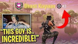 Download Ninja is SHOCKED When Spectating This Pro Fortnite Player... Video
