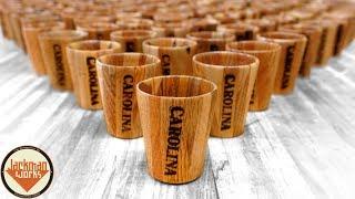 Download Pallet Wood Shot Glasses (100 of them!) Video