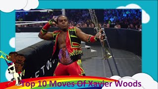 Download Top 10 Moves Of Xavier Woods Video