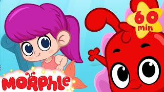 Download Mermaid Girl Meets Morphle and Mila! +1 hour funny Morphle kids videos compilation) Video