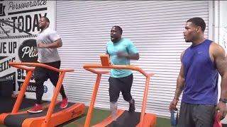 Download Kevin Hart & Ndamukong Suh Workout | Just-Train TV Video