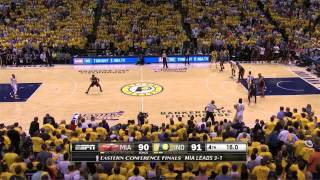 Download Miami Heat - Indiana Pacers 90-93: final minutes | game 5 | eastern finals 2014 Video