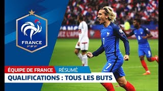 Download Equipe de France, qualifications Mondial 2018: Tous les buts des Bleus I FFF 2017 Video