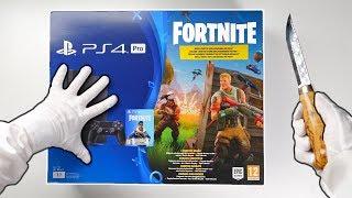 Download PS4 ″FORTNITE″ CONSOLE UNBOXING! Playstation 4 Pro Fortnite Battle Royale Bundle + Bomber Skin Video