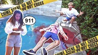 Download INSANE DEAD BODY PRANK ON TEAM 10 (FREAKOUTS) Video