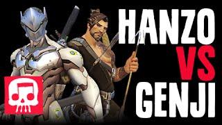 Download HANZO VS GENJI Rap Battle by JT Music (Overwatch Song) Video